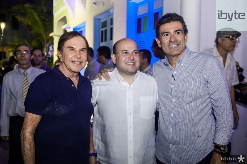 Lazaro Medeiros, Roberto Cláudio e  Alexandre Pereira