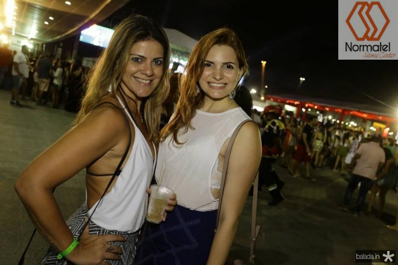 Adriana Castro e Tabita Fontenele