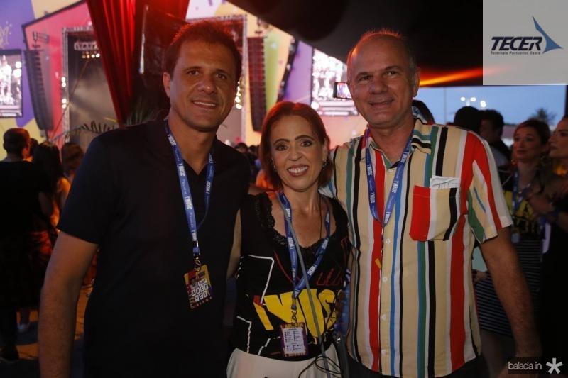 Wellington Oliveira, Rachel Mondonca e Joao Carlos Diogenes