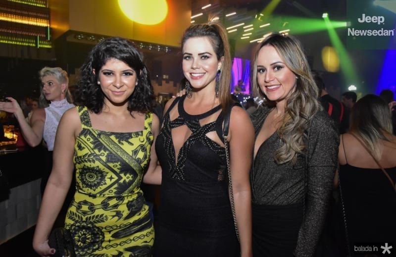 Clarisse Almeida, Katiane Fernandes e Pauliane Mesquita