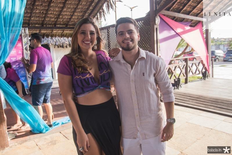 Lisse Albuquerque e Matheus Lopes
