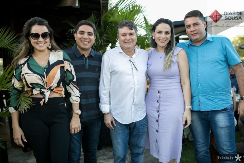 Roseane Maranhao, Wendel Bezerra, Antonio Ney, Jessica Monteiro e Osmar Junior