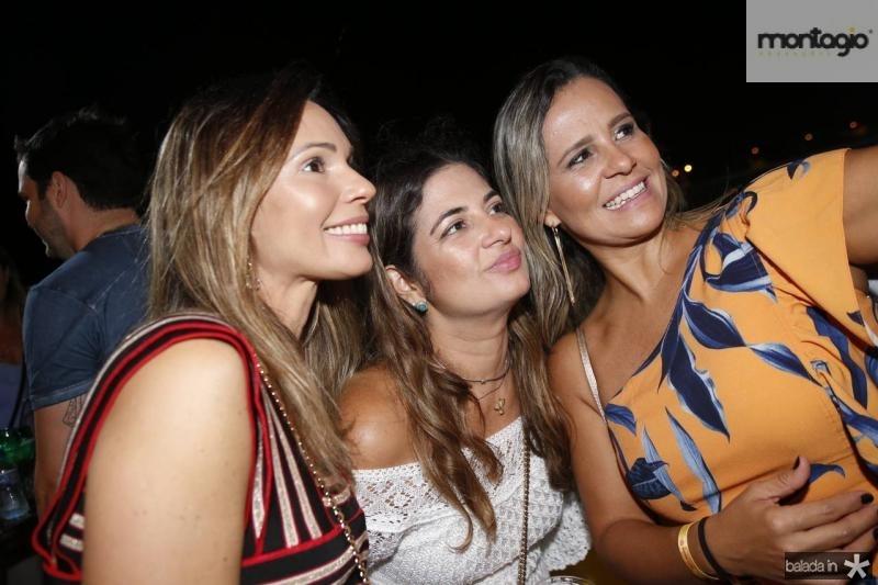 Renata Cabral, Danielle Carvalho e Alessandra Bezerril