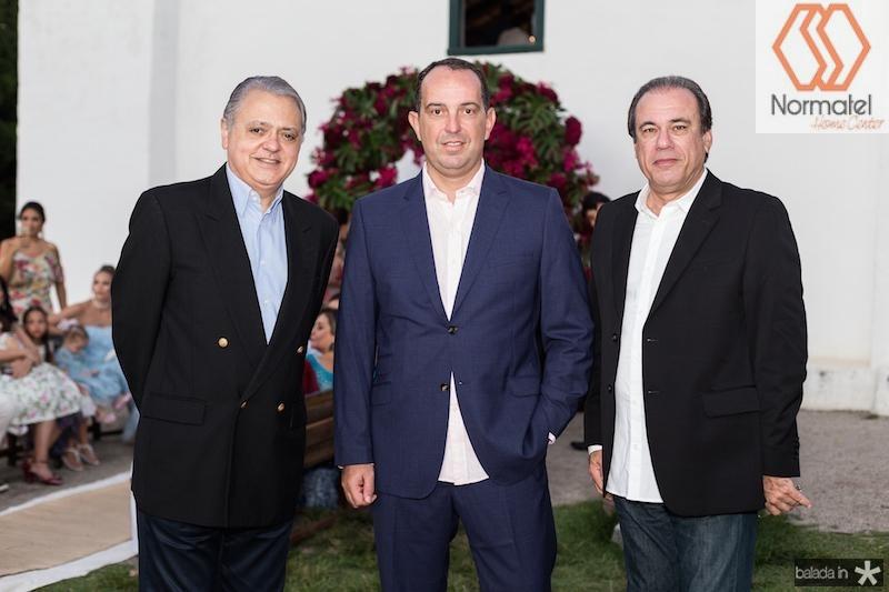 Daniel FIgueiredo, Marcelo Pinheiro e Claudio Brasil