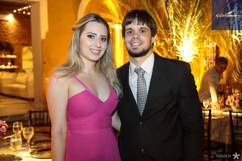 Renata Botelho e Thiago Barros