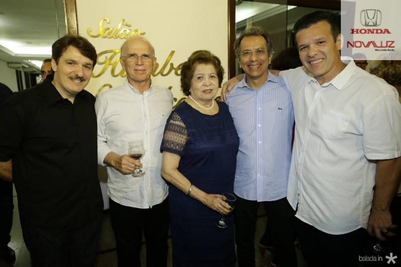 Raimundinho Feitosa, Paulo Mota, Eddy e Eduardo Rolim e Ferruccio Feitosa