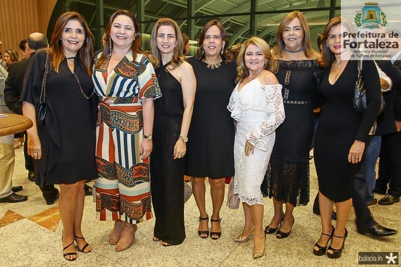 Cristiane Figueiredo, Lili Cialdini, Karmilse Marinho, Liana Fiuza, Nekita Romcy, Ailza Ventura e Liliana Linhares
