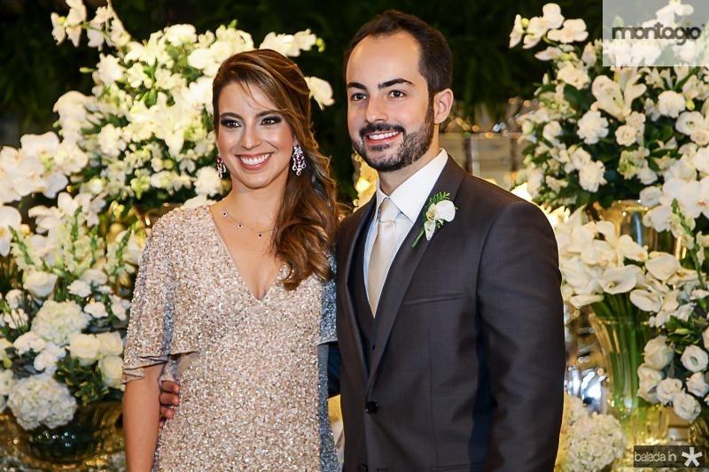 Ticiana Parente e Felipe Barreira