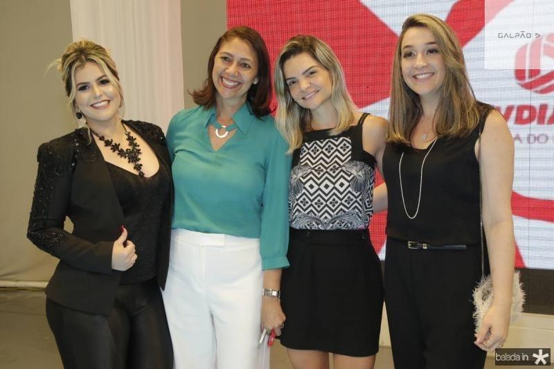Jack Lima, Linda Tavares, Samara Passos e Suzi Valerio