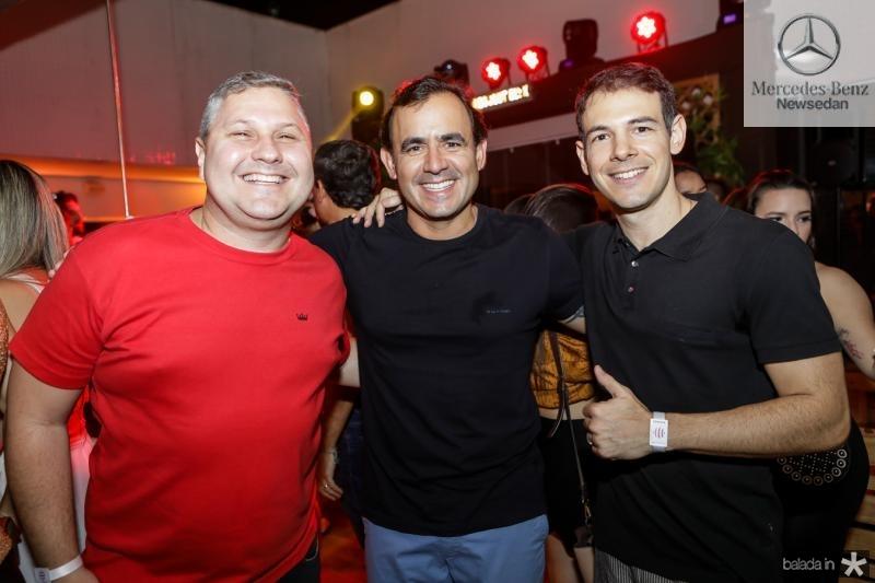 Henrique Amorim, Flavio Quindere e Walmyr Neto