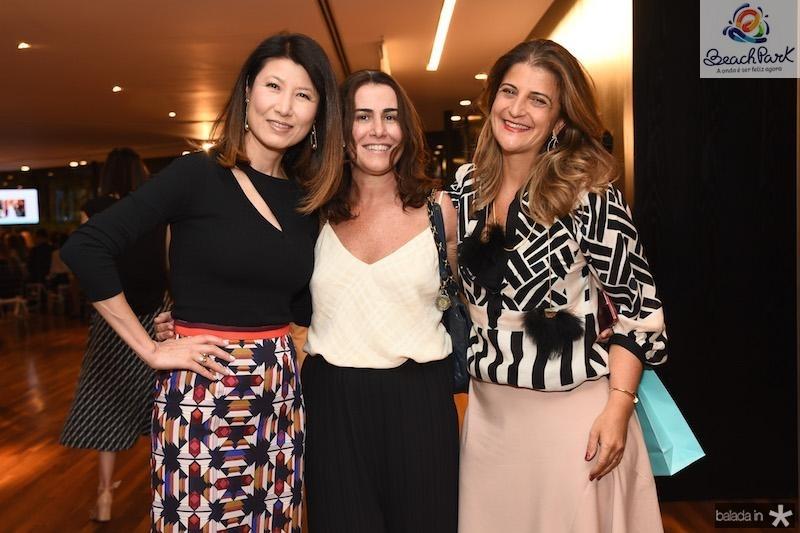 Mi Kim, Gigi Pires e Flavia Kujawski