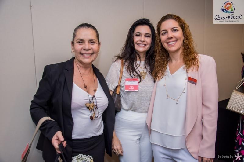 Dora Coelho, Eloiza Sarubbi e Ticiana Rolim Queiroz