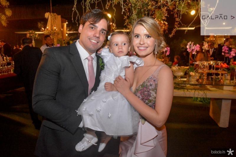 Bruno, Carolina e Bruna Max