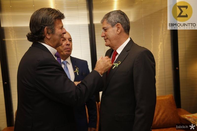 Luiz Fux, Andre Montenegro e Adalberto Valadao