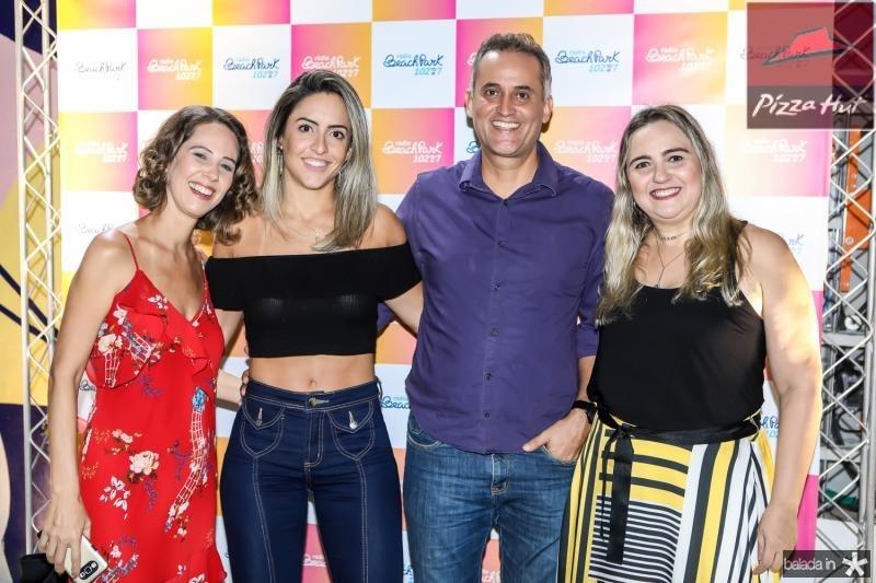 Micheline Olivindo, Carina Salgado, Henrique Donato e Eveline Pessoa