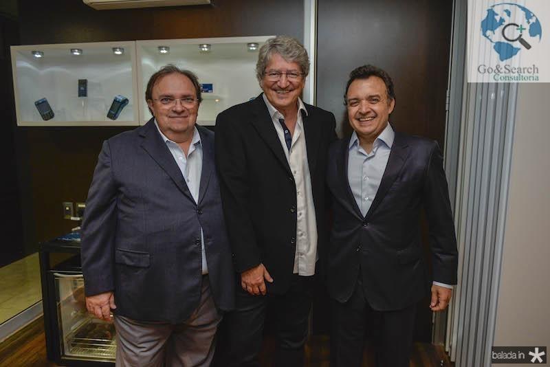 Manoel Macedo, Jose Paulo Emsenhuber e Henrique Pereto
