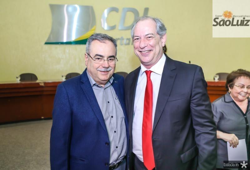 Assis Cavalcante e Ciro Gomes