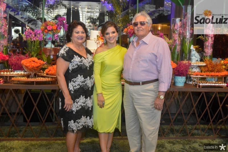 Ana Lucia Marques, Viviane Martins e Paulo Marques