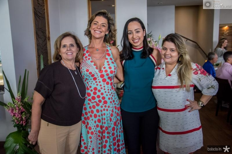 Sueli Vasconcelos, Ana Cristina Wolf, Helisa Vieira e Viviane Nascimento