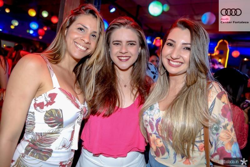 Jessica Carvalho, Camila Gadelha e Camila Lourenço