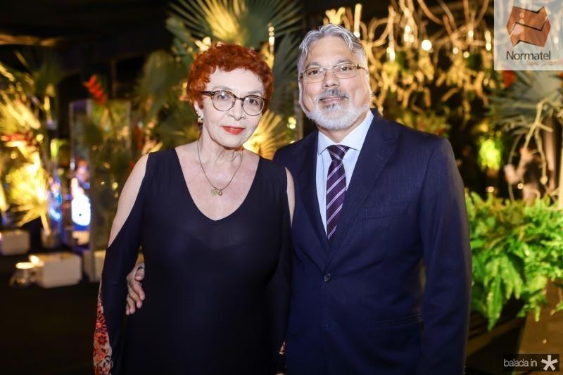 Eugenia Nogueira e Fernando Cisne