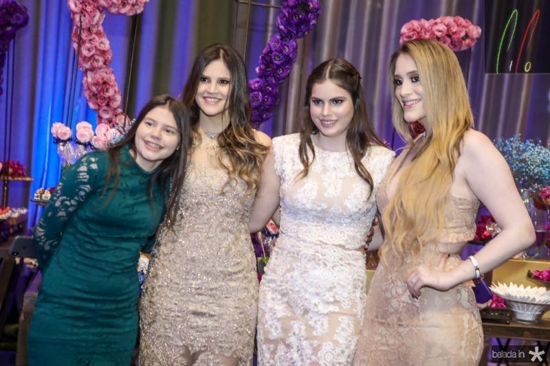 Sofia, Amanda, Manoela e Vitoria Arrais