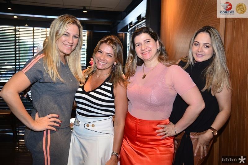 Lorena Albuquerque, Vanessa Queiroz, Ivna Masih e Karina Mota