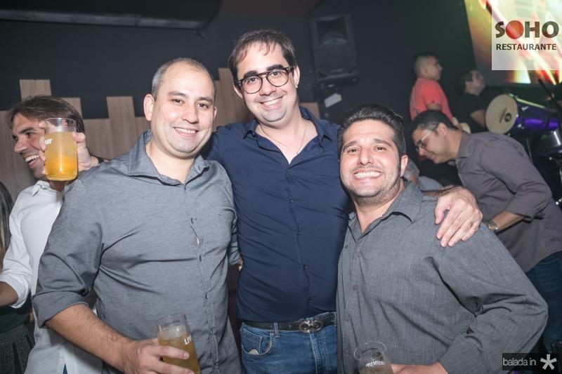 Andre Linheiro, Pedro de Castro e Pedro Gurjao