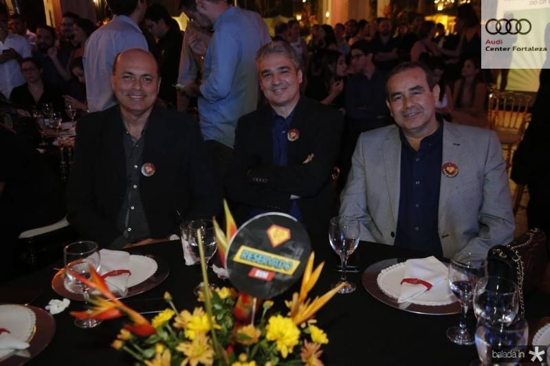 Marcelo Pitanga, Cesar Cerqueira e Fabio Ambrosio