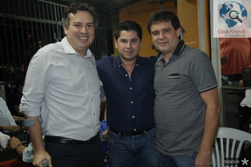 Samuel Dias, Pompeu Vasconcelos e Evandro Leitao