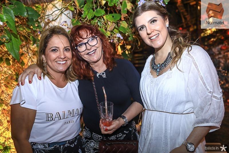 Liana Thomaz, Gladys Sidou e Carla Pereira
