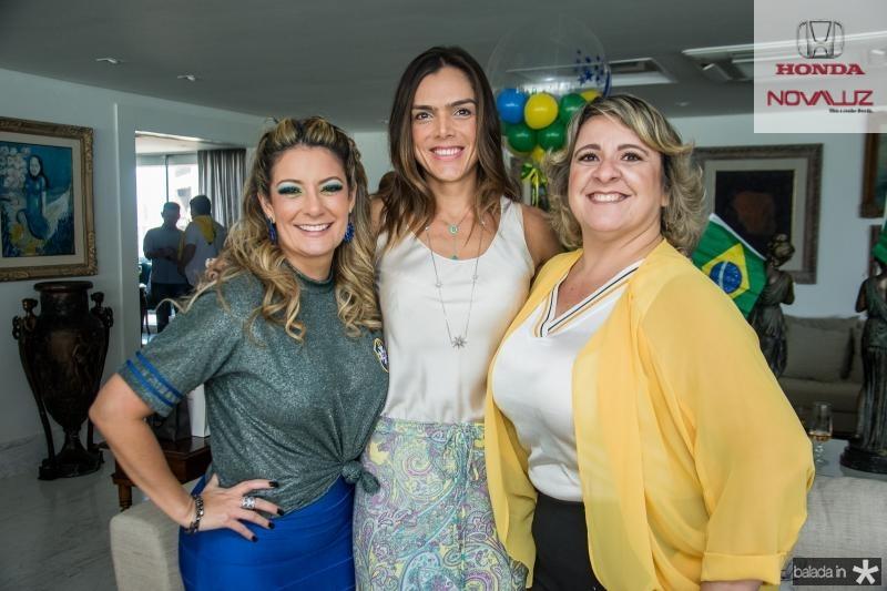 Tatiana Luna, Beatriz Otoch e Cecilia Portela