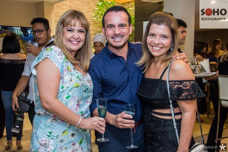 Ilda Antunes, Wilfredy Mendonca e Silvia Carneiro