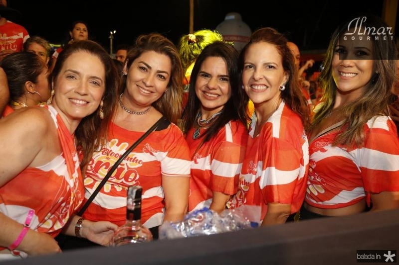 Renata Serpa, Tais Matias, Laisa Albuquerque, Ana Elisa e Samea Castro 2