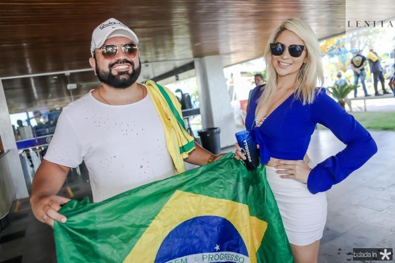 Carlos Filho e Lania Fernandes
