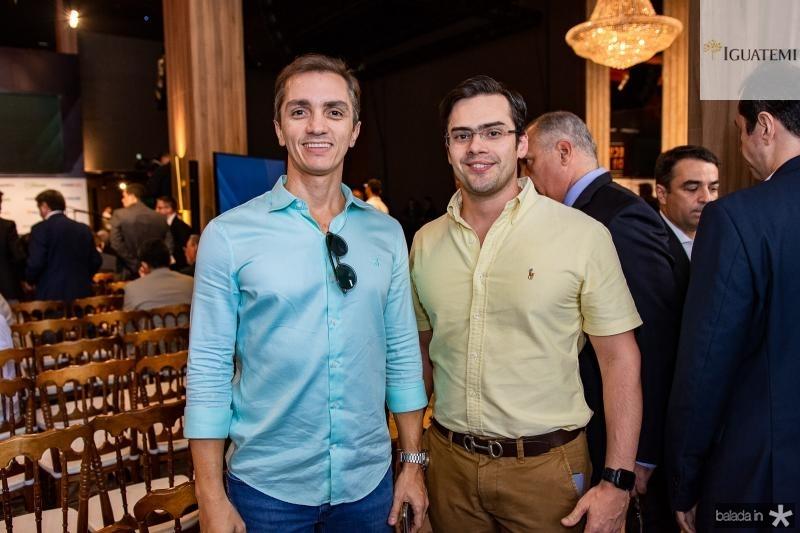 Marcelo Marfrutas e Emanuel Machado