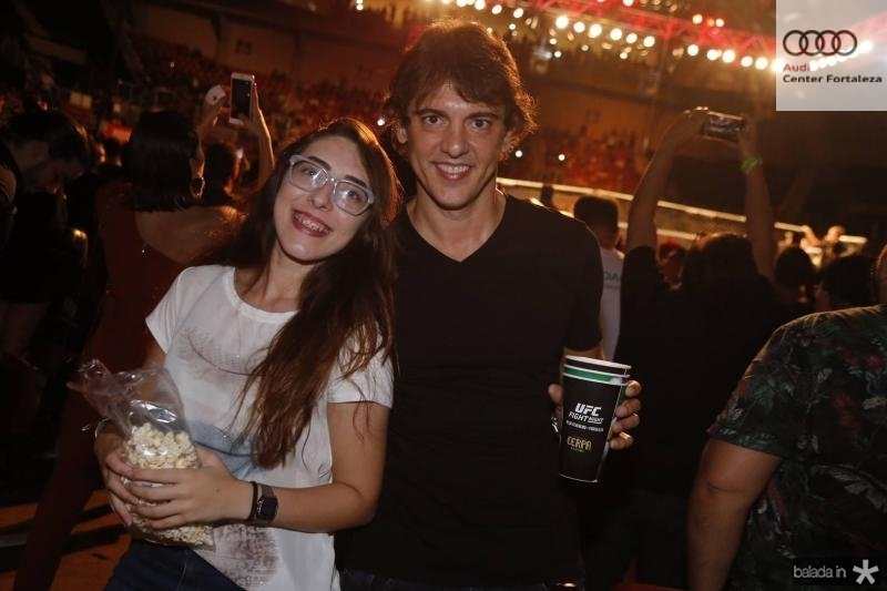 Isabella Sisi e Fabiano Valpereira