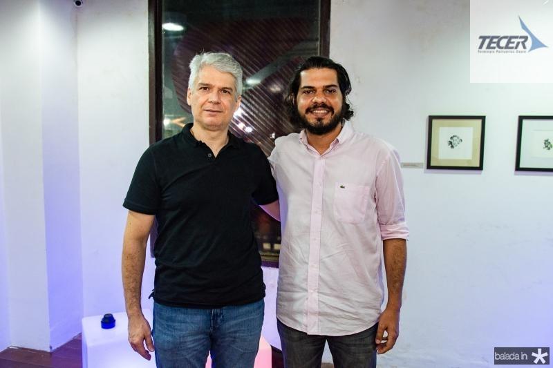 Leonardo Leal e Alberto Gadania