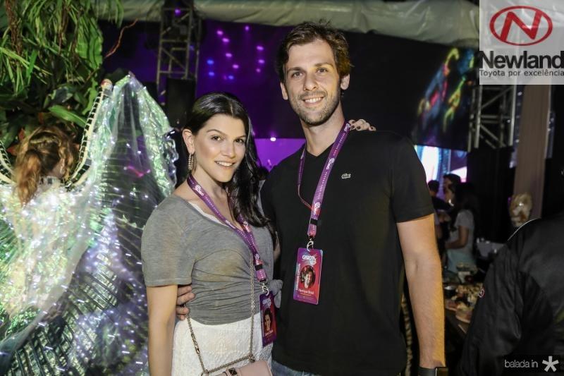 Liana e Henrique Brasil