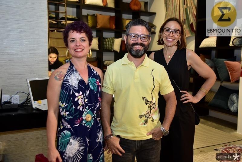 Fernanda Lima Verde, Jose Nascimento e Cristiane Siqueira