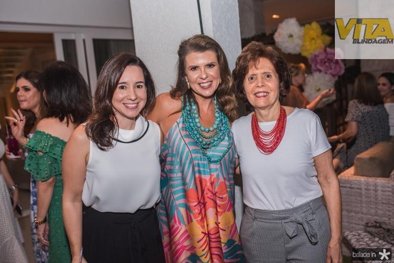 Caroline Camara, Alexandra Pinto e Didie Camara