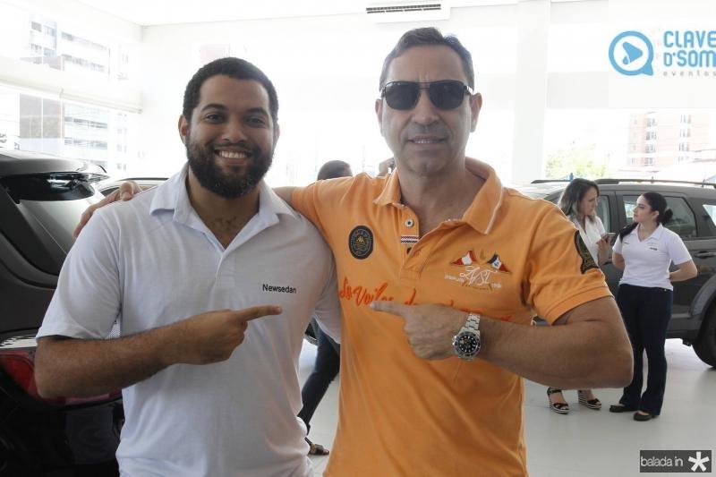 Alisson Silva e Ronaldo Munhoz