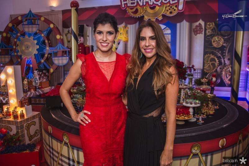Flavia Laprovitera e Rafaela Otoch