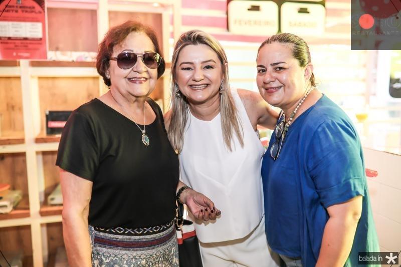Fatima Mourao, Vanuza Saboia e Adriana Romero