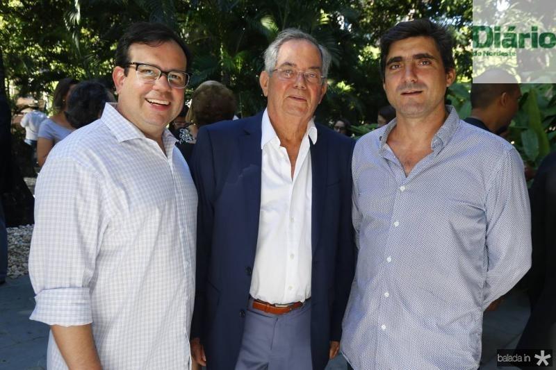 Rafael Bezerra, Philipe Celigman e Agostinho Herrera