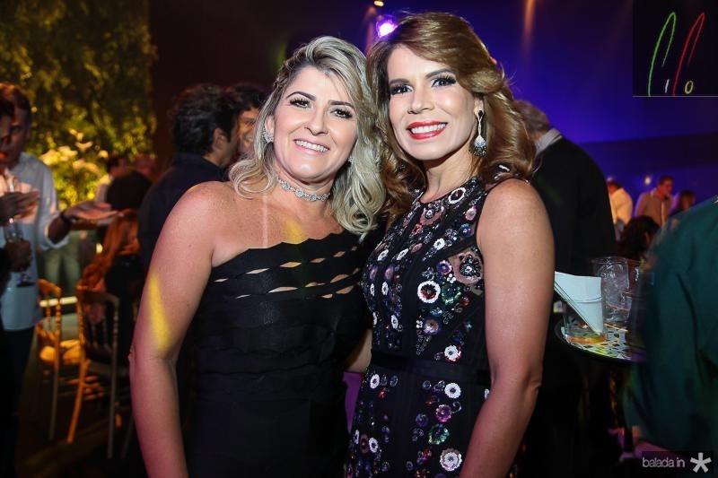Leia Freitas e Maira Silva