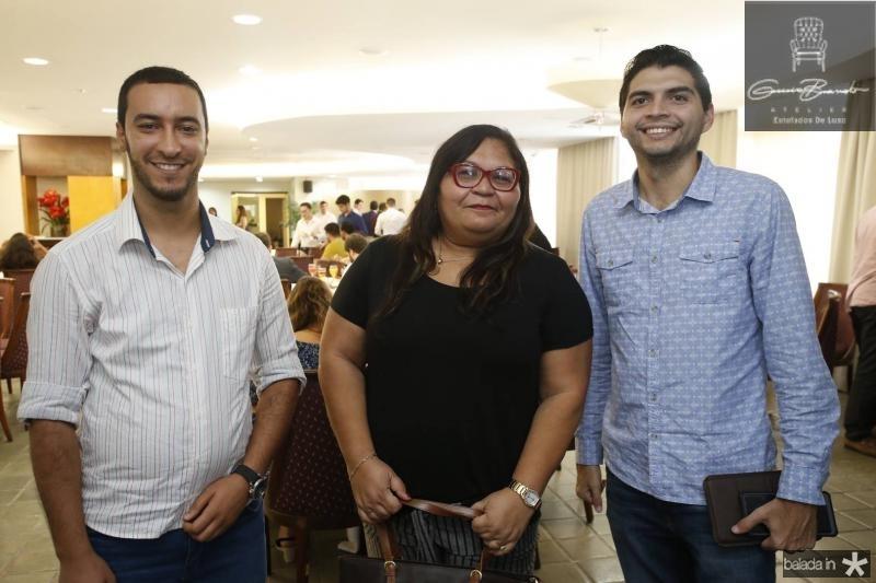 Luciano Edim, Rosangela Pinheiro e Luciano Meireles