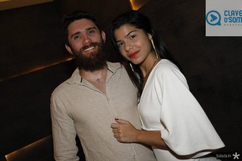 Venicio Montenegro e Barbara Almeida