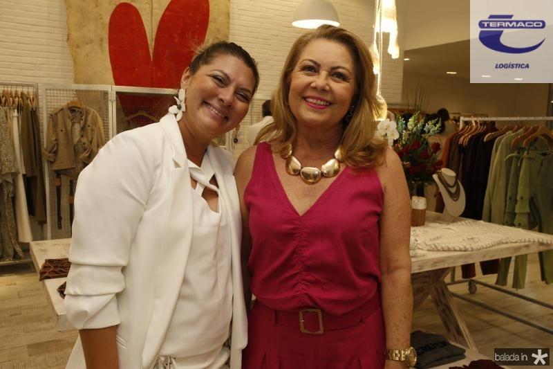 Marcela Brasil e Ines Cals