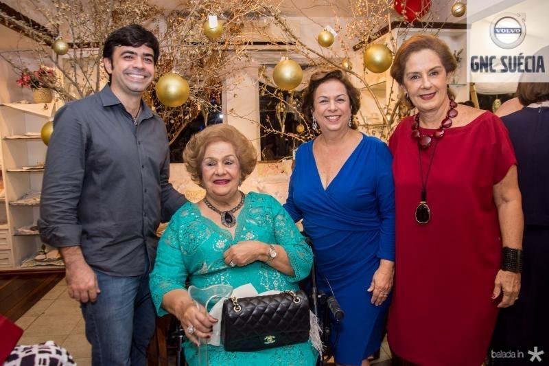 Eduardo Cals, Beatriz Philomeno, Julia Gurjão e Tida Leal
